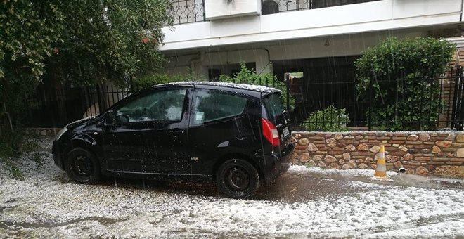 Ξαφνική χαλαζόπτωση στην Αθήνα (vid+pics) — ΣΚΑΪ (www.skai.gr)
